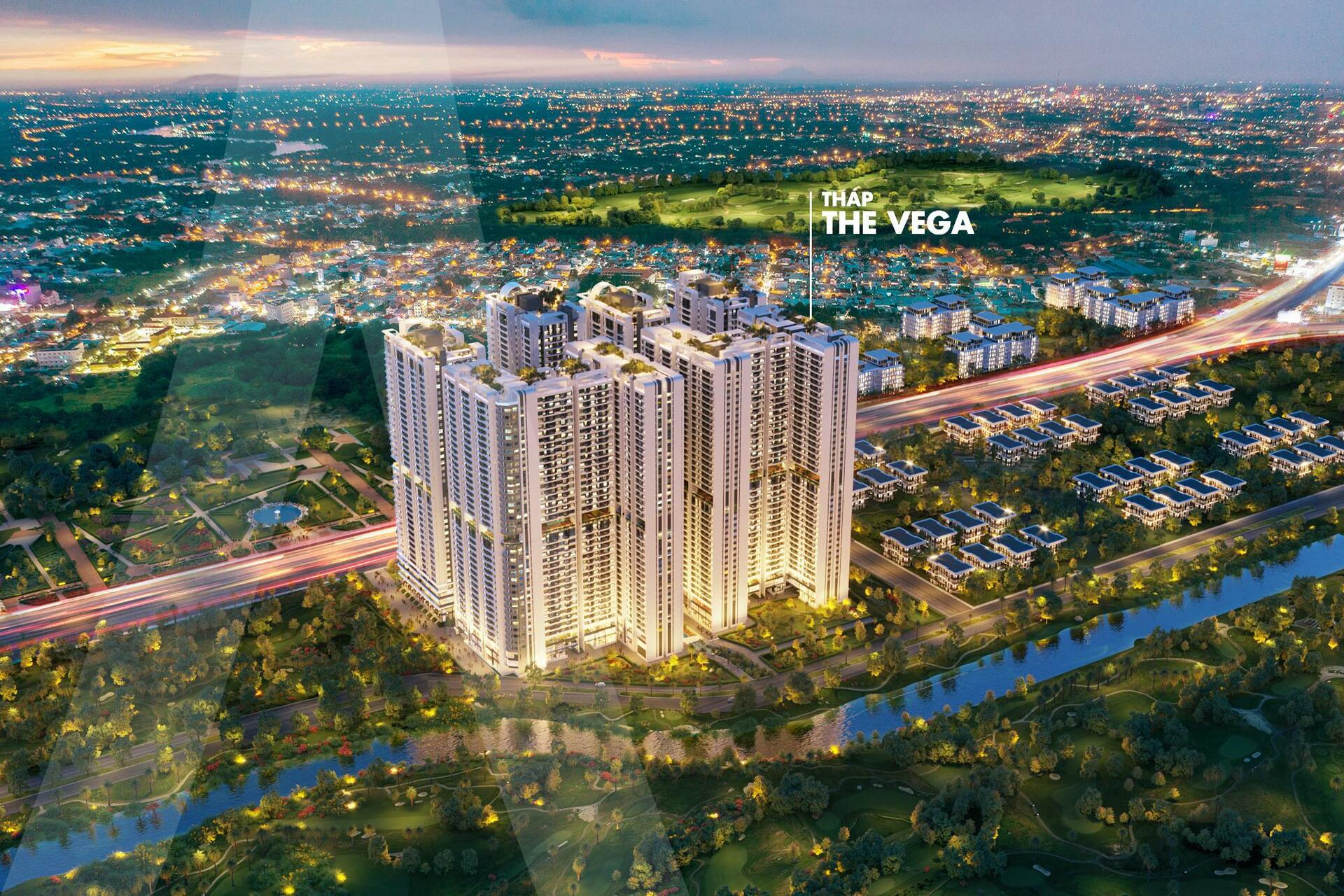 Tiện ích dự án Astral City - Phân Khu The Vega